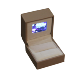 Jewelry Box with Video Screen